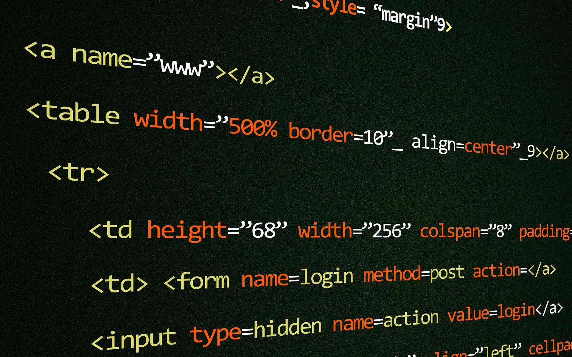 HTML képzés