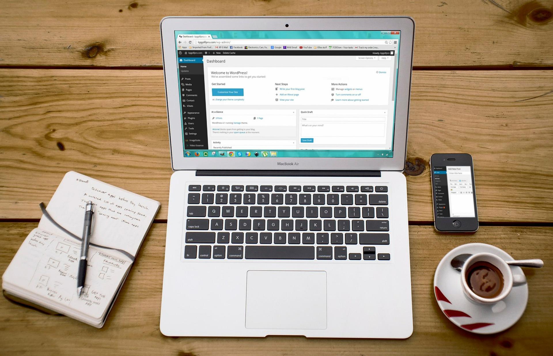 WordPress weblapkészítő képzés